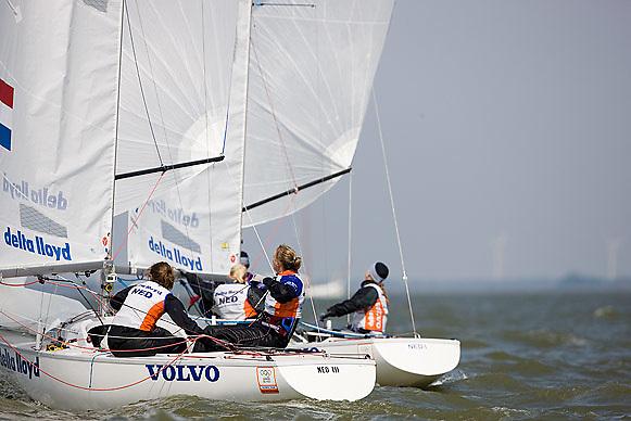 08_002679 © Sander van der Borch. Medemblik - The Netherlands,  May 24th 2008 . Day 4 of the Delta Lloyd Regatta 2008.