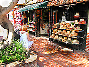 Olvera Street In Downtown Los Angeles