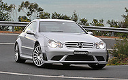 2008 Mercedes Benz AMG CLK 63 Black Series (Iridium Silver) .Corporate Drive Day with Octane Events & The Supercar Club.Arthurs Seat, Mornington Pennisula, Victoria .6th-7th of August 2009 .(C) Joel Strickland Photographics