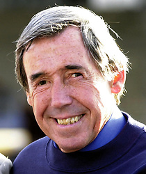 Former football legend, Gordon Banks outside Wembley stadium, North London. Banks will be attending A Salute to Wembley, Final Ball on Thursday with 2,000 invited guests who are hoping to raise  1 million in aid of the NSPCC FULL STOP Campaign.   * 7/3/01: Legendary keeper Banks is to auction off his 1966 World Cup winning medal. The England star played in the side that beat the former West Germany 4-2 at Wembley to win football's greatest prize. Experts believe that the medal will fetch between  70,000 and  90,000 at the auction to be held at Christie's in London. Bidders will be able to try to get their hands on the slice of footballing history on March 23 when the medal is sold off in a football memorabilia auction.