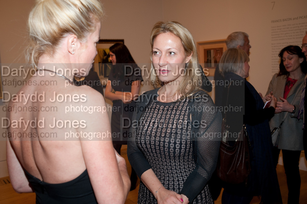 Chrissie Erpf; Diana Widmaier Picasso; Picasso and Modern British Art, Tate Gallery. Millbank. 13 February 2012