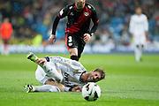 Foul against Sergio Ramos