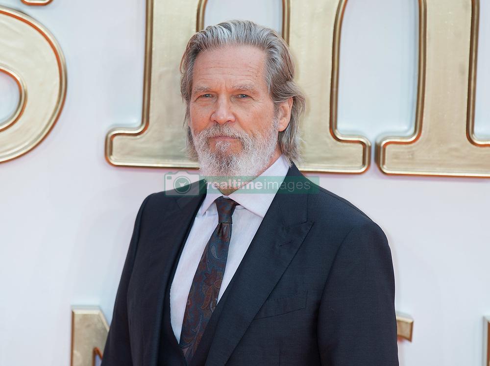 Jeff Bridges attends the World Premiere of Kingsman: The Golden Circle Arrivals at The Odeon in Leicester Square in London on 18 September 2017.<br /><br />18 September 2017.<br /><br />Please byline: Vantagenews.com