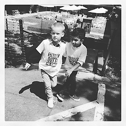 """Hilary Duff releases a photo on Twitter with the following caption: """"""""These boys graduated pre-k today. So proud of all they learned and the strides they made in 3 years. I was devastated to miss it. #bestbuds…"""""""". Photo Credit: Twitter *** No USA Distribution *** For Editorial Use Only *** Not to be Published in Books or Photo Books ***  Please note: Fees charged by the agency are for the agency's services only, and do not, nor are they intended to, convey to the user any ownership of Copyright or License in the material. The agency does not claim any ownership including but not limited to Copyright or License in the attached material. By publishing this material you expressly agree to indemnify and to hold the agency and its directors, shareholders and employees harmless from any loss, claims, damages, demands, expenses (including legal fees), or any causes of action or allegation against the agency arising out of or connected in any way with publication of the material."""