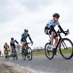 07-03-2020: Wielrennen: Ronde van Groningen: Usquert <br />Rick van Breda