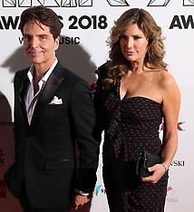ARIA Awards red carpet arrivals - 28 Nov 2018