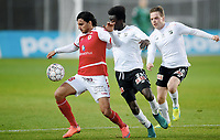 Fotball , 30. januar 2017 , Privatkamp<br /> Kalmar - Odd<br /> Mahmoud Eid  kalmar<br />  John Kitolano , odd