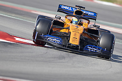 February 28, 2019 - Spain - Lando Norris (McLaren F1 Team) MCL34 car, seen in action during the winter testing days at the Circuit de Catalunya in Montmelo  (Credit Image: © Fernando Pidal/SOPA Images via ZUMA Wire)