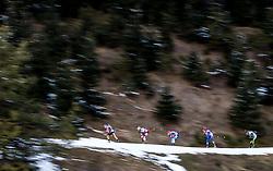 13.12.2014, Biathlonarena, Hochfilzen, AUT, E. ON IBU Weltcup, Staffel, Herren, im Bild Feature, v.l.: Erik Lesser (GER), Daniel Mesotitsch (AUT), Maxim Tsvetkov (RUS), Michal Slesingr (CZE), Simon Fourcade (FRA) // during Mens Relay of E. ON IBU Biathlon World Cup at the Biathlonstadium in Hochfilzen, Austria on 2014/12/13. EXPA Pictures © 2014, PhotoCredit: EXPA/ JFK