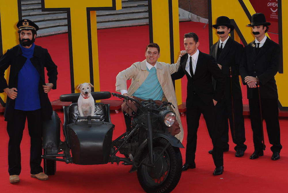 """at the premiere of """"The Adventures of Tin Tin"""" during the 6th International Rome Film Festival..{month name}28, 2011, Rome, Italy.Picture: Catchlight Media / Featureflash"""