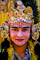Rajasthani dancer, Pushkar Fair (camel fair), Pushkar, Rajasthan, India
