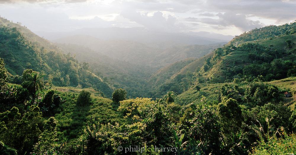 Landscape at Jacmel, Haiti