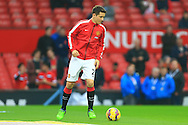 Ander Herrera of Manchester United starts on the bench despite pending investigations in to alleged match fixing - Manchester United vs. Hull City - Barclay's Premier League - Old Trafford - Manchester - 29/11/2014 Pic Philip Oldham/Sportimage