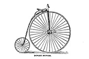 Duplex Bicycle Penny-Farthing The American bicycler: a manual for the observer, the learner, and the expert by Pratt, Charles E. (Charles Eadward), 1845-1898. Publication date 1879. Publisher Boston, Houghton, Osgood and company