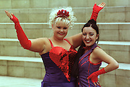 Supergirly (Louise McClatchy, left, and Jai Simeone) during their appearance at this year's Edinburgh Festival Fringe........
