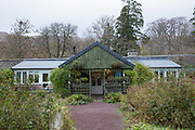 The Applecross Walled Garden and restaurant on the 4th November 2018 on the Applecross Peninsula on the west coast of Scotland in the United Kingdom.