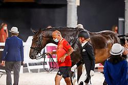 Von Bredow-Werndl Jessica, GER, TSF Dalera BB, 139, Roemer Klaus<br /> Olympic Games Tokyo 2021<br /> © Hippo Foto - Stefan Lafrentz<br /> 27/07/2021