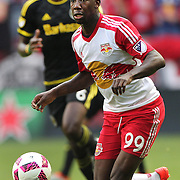 HARRISON, NEW JERSEY- OCTOBER 16:  Bradley Wright-Phillips #99 of New York Red Bulls in action during the New York Red Bulls Vs Columbus Crew SC MLS regular season match at Red Bull Arena, on October 16, 2016 in Harrison, New Jersey. (Photo by Tim Clayton/Corbis via Getty Images)