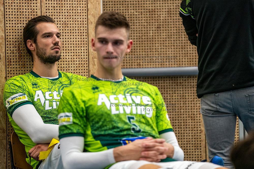 Bas van Bemmelen after the supercup final between Amysoft Lycurgus - Active Living Orion on October 04, 2020 in Van der Knaaphal, Ede