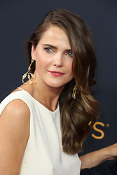 Keri Russell arriving for The 68th Emmy Awards at the Microsoft Theater, LA Live, Los Angeles, 18th September 2016.