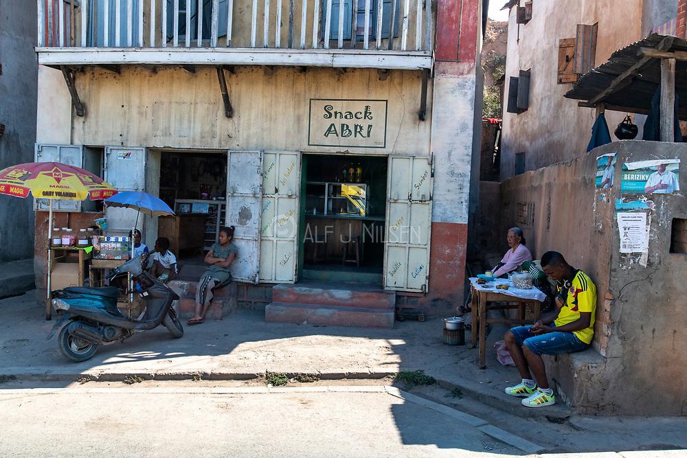 Streetlife in Antananarivo, Madagascar.