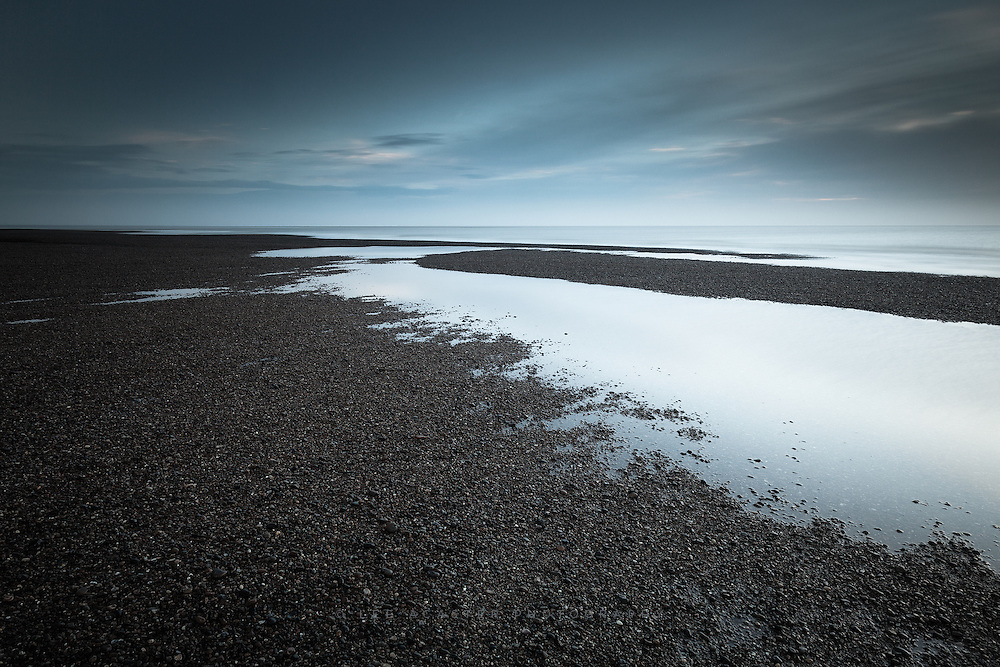 Pre-dawn at Shingle Street from Monday.