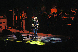 The Grateful Dead in Concert at the Brendan Bryne Arena, East Rutherford NJ, on April 1st 1988. View from front, stage left.