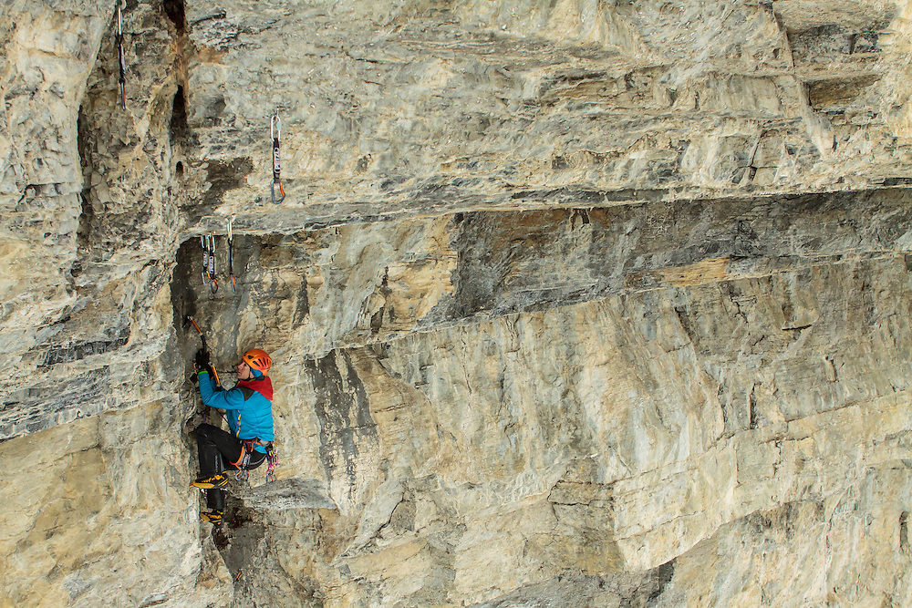 Will Mayo on lead on a new route near Hydrophobia