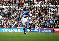 Photo: Rich Eaton.<br /> <br /> Derby County v Birmingham City. Coca Cola Championship. 21/10/2006. Stephen Clemence scores the goal to give Birmingham a 1-0 lead