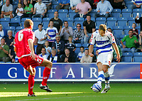 Photo: © Andrew Fosker / Richard Lane Photography -  QPR's Akos Buzsaky curls in their second goal & his first - Queens Park Rangers v Barnsley - Coca-Cola Championship - 26/09/09 Loftus Road - London -  UK - All Rights Reserved