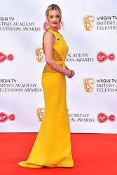 Laura Whitmore attending the Virgin TV British Academy Television Awards 2018 held at the Royal Festival Hall, Southbank Centre, London.