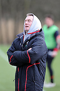 Rob Howley, the Wales caretaker coach looks on. Wales rugby team training at the Vale, Hensol near Cardiff, South Wales on Tuesday 12th March 2013.  the team are training ahead of the final RBS Six nations match against England this weekend. pic by  Andrew Orchard, Andrew Orchard sports photography,