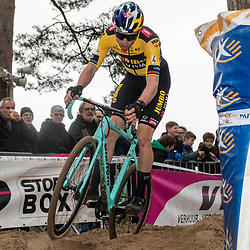 2020-02-08 Cycling: dvv verzekeringen trofee: Lille: Wout van Aert takes the win ion his own spoil
