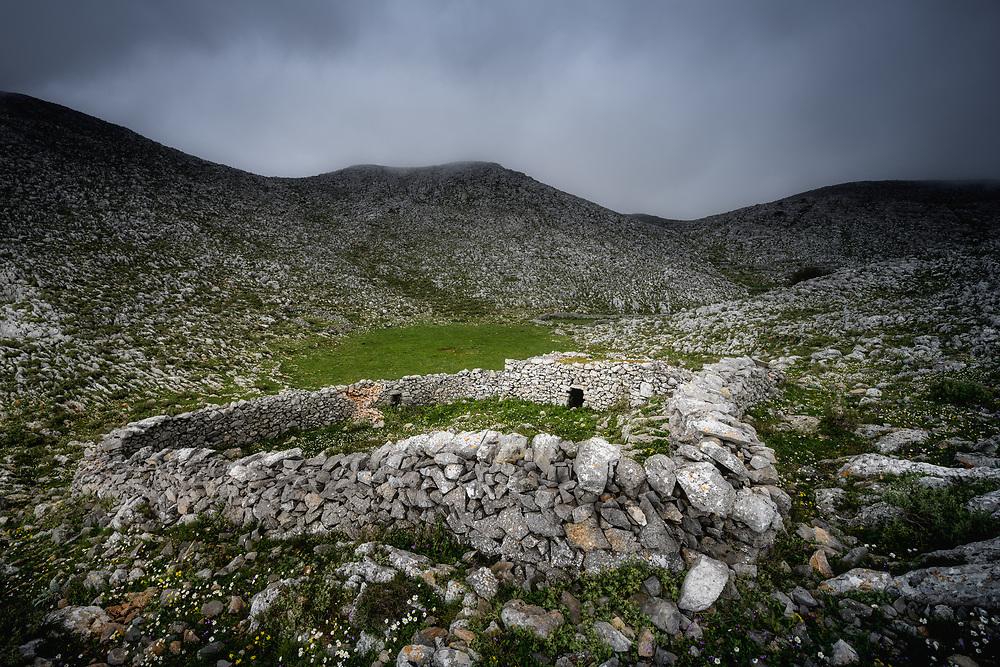 Mountains of Mani Peninsula, Greece