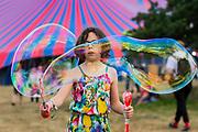 Henham Park, Suffolk, 18 July 2019. Bubbles inc is back - The 2019 Latitude Festival.