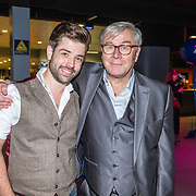 NLD/Amsterdam/20161004 - Wereldpremiere van Inspiration360 2016, Barry Stevens en ...............