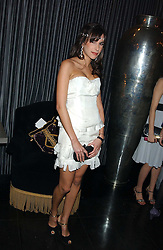 CAROLINE SIEBER at a party to celebrate the publication of Tatler's Little Black Book 2005 held at the Baglioni Hotel, 60 Hyde Park Gate, London SW7 on 9th November 2005.<br /><br />NON EXCLUSIVE - WORLD RIGHTS