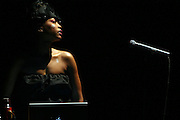 Erykah Badu at The Erykah Badu NewAmerykah Tour with the Roots at Radio City Music Hall on May 9, 2008..