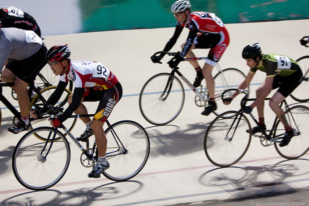 Tuesday Night Racing at the San Diego Velodrome on May 19, 2009.