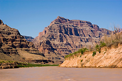 Scenic, Grand Canyon, Colorado River, Arizona, AZ, cliffs, landscape, horizontal, arid, erosion, nature, muddy water, Image nv454-18785.Photo copyright: Lee Foster, www.fostertravel.com, lee@fostertravel.com, 510-549-2202