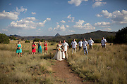 Linzy and Adam got married in Alpine Texas Saturday Sept 12 2015