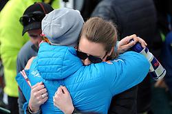 THEMENBILD - Skistar Marcel Hirscher gibt am 4. September seine Zukunftspläne in Salzburg bekannt. Seit seinem ersten Weltcupsieg 2009 inVal d'Isere gewann er den Gesamtweltcup siebenmal in Folge und steht derzeit bei insgesamt 68 Siegen. Damit zählt er zu den erfolgreichsten Skirennläufern der Geschichte. Hier im Bild: Marcel Hirscher mit Freundin Laura anlässlich der FIA Ski Alpin Weltcupfinale 2014 in Lenzerheide // Ski star Marcel Hirscher announces his plans for the future in Salzburg on 4 September. Since winning his first World Cup victory inVal d'Isere in 2009, he has won the overall World Cup seven times in a row and currently has a total of 68 victories. He is one of the most successful ski racers in history. Here in the picture: Marcel Hirscher with girlfriend Laura during the FIS Alpine Skiing World Cup Final 2014 in Lenzerheide. Switzerland. EXPA Pictures © 2019, PhotoCredit: EXPA/ Erich Spiess