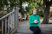 Janet Smith poses for a portrait at her home in San Jose, California, on December 21, 2018. (Stan Olszewski/SOSKIphoto)