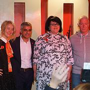 London, England,UK. 4th Nov 2016: Justine Simons,Sadiq Khan,Amy Lame attends Amy Lame as UK first-ever Night Czar at 100 Club,London,UK. Photo by See Li