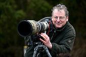 Les Gibbon Photographer at Secret Hide 2014