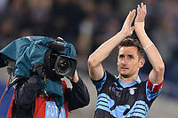 Miroslav Klose (Lazio) <br /> Roma 15-05-2016  Stadio Olimpico<br /> Campionato Serie A,<br /> Lazio - Fiorentina<br /> Foto Antonietta Baldassarre / Insidefoto