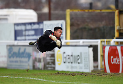 Jojo Wollacott of Bristol City during warm-up - Mandatory by-line: Paul Knight/JMP - 16/02/2017 - FOOTBALL - Twerton Park - Bath, England - Bristol City U23 v Southampton U23 - Premier League 2 Cup