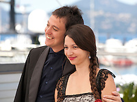 Directors Francisco Marquez and Andrea Testa at the The Long Night of Francisco Sanctis (La Larga Noche De Francisco Sanctis) film photo call at the 69th Cannes Film Festival Friday 20th May 2016, Cannes, France. Photography: Doreen Kennedy