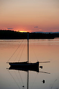 17/06/2014 As the good weather continues sunset's like this shot in Kinvara Co. Galway will be visible around the coast of beautiful Ireland. <br />   Photo:Andrew Downes