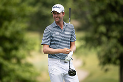 August 5, 2018 - Akron, OH, U.S. - AKRON, OH - AUGUST 05:   Webb Simpson (USA) prepares to play his shot from the sixth tee during the final round of the World Golf Championships - Bridgestone Invitational on August 5, 2018 at the Firestone Country Club South Course in Akron, Ohio. (Photo by Shelley Lipton/Icon Sportswire) (Credit Image: © Shelley Lipton/Icon SMI via ZUMA Press)
